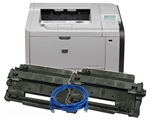 LaserJet P3015DN Printer Bundle