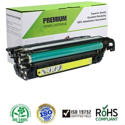LaserJet CP4025/CP4525 Series Compatible Yellow Toner